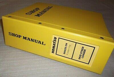 Komatsu Sk820-5n Skid Steer Loader Service Shop Repair Manual Sn A40001-up