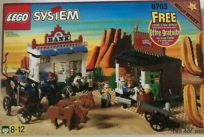 Lego 6765 Gold City Junction in Box with Instructions