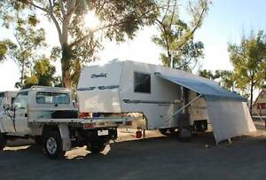 Truelux Australian Built 5th Wheeler Caravan and Toyota Tow Adelaide Region Preview