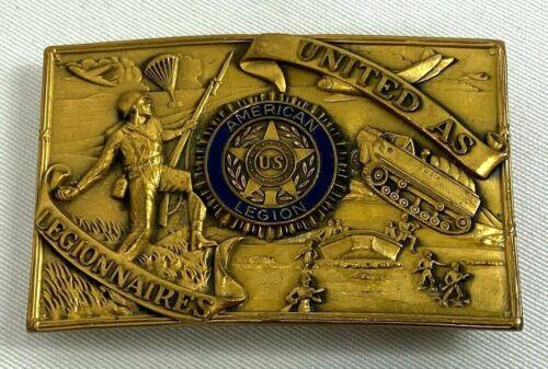 Vintage American Legion Commemorative Belt Buckle
