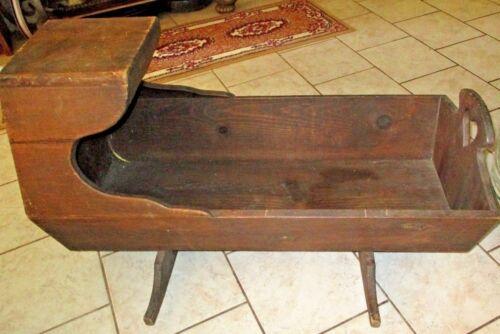 """Vintage Antique 38""""L- 23""""H - 17""""W , Wooden 1900"""