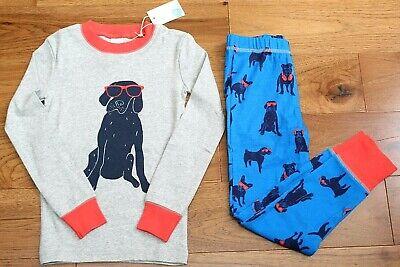 Dog Pajamas Pjs - NEW Mini Boden COOL DOG PAJAMAS sz 4 5 6 7 10 Boys PJs Long Sleeve 2 Pc Red