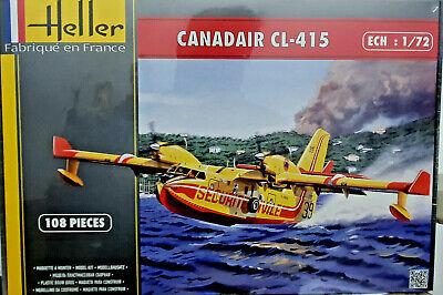 Canadair CL-415 Securite Civile Antincendio Heller Kit 1:72 80370 Nuovo