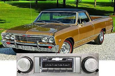 NEW USA-630 II* 300 watt '66-67 El Camino AM FM Stereo Radio iPod, USB, Aux ins
