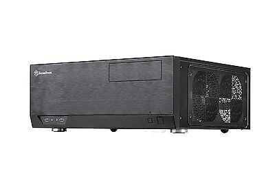 SilverStone Technology GD09B, Grandia Series, Aluminum HTPC Computer Case, Black
