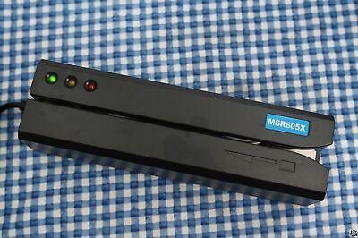 Msr605x Magnetic Stripe Card Reader Writer Encoder Credit Magstrip Msr206 Msr605
