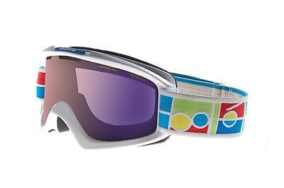 125c370220 Bolle Nova Ski Snow Goggles White with Aurora Lens - New in Box!