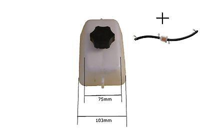 Pocket Bike Mini Cross  Dirt bike 49ccm Benzin Tank  + Benzinfilter mit Schlauch