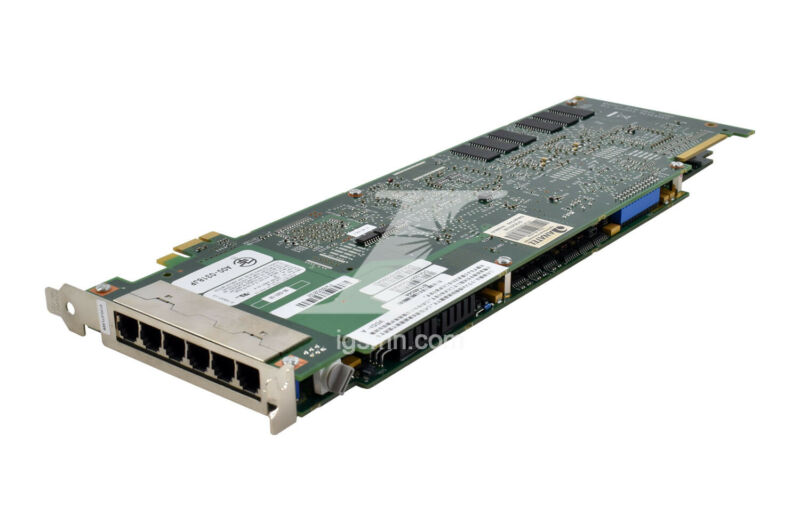 Dialogic D120JCTLSEW 12-Port Analog Voice Card Loop-Start PCIe