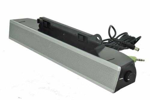 Dell AS501 Monitor Mount Speakers Multimedia Attachable Sound Bar 10 Watt Silver