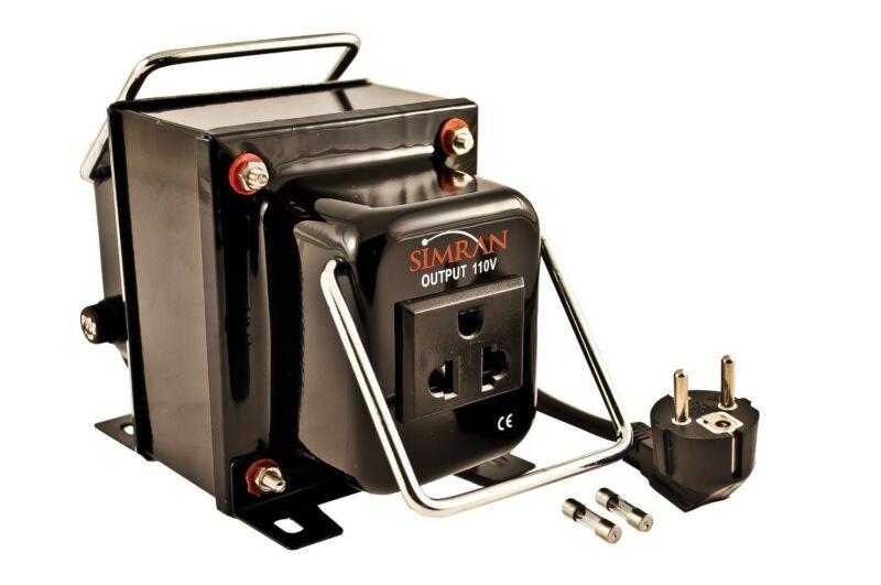 Simran THG-300 220/240V 110/120V Step Down Transformer 220 Volt To 110 Volt