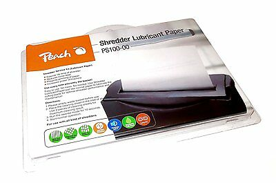 Peach Aktenvernichter Service Kit (Ölpapier) 12 Stk./Blister PS100-00 Öl Papier