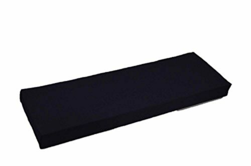 """Solid Navy Blue 3"""" Thick Foam Swing / Bench Cushion In/Outdo"""