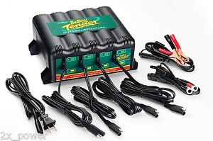Deltran-Battery-Tender-Plus-022-0148-DL-WH-4-Bank-Automatic-Maintainer-Charger