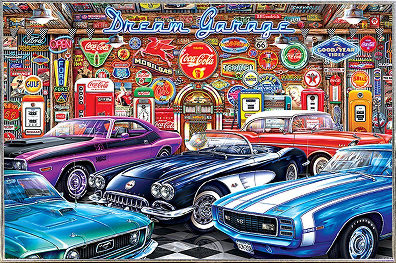 DREAM GARAGE - VINTAGE CARS POSTER 24x36 - 11275
