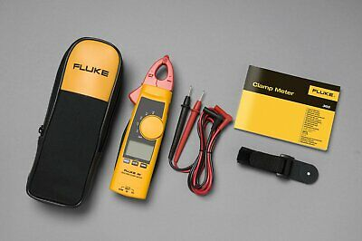 Fluke 365 True-rms Clamp Meter W Detachable Jaw Acdc W Case New F365