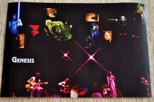 Genesis poster Genesis Selling England Peter Gabriel masks on stage poster