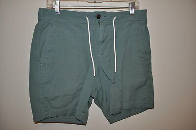 Abercrombie & Fitch Men's Drawstring 7 Inch Shorts Small S Green