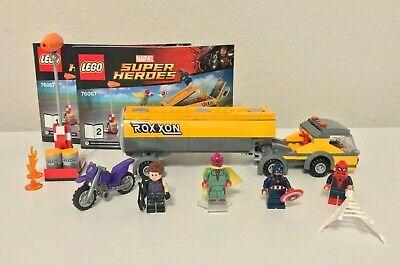 Lego Marvel Super Heroes Tanker Truck Takedown (76067) 100% Complete!