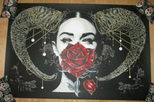 RHYS COOPER art poster print LA BETE sn/150