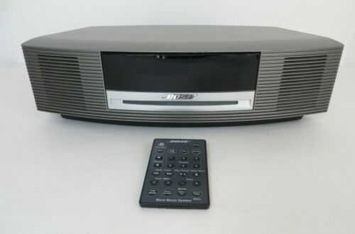 Bose Wave Music System III, Graphite Gray with Original Remote - 343178-1110