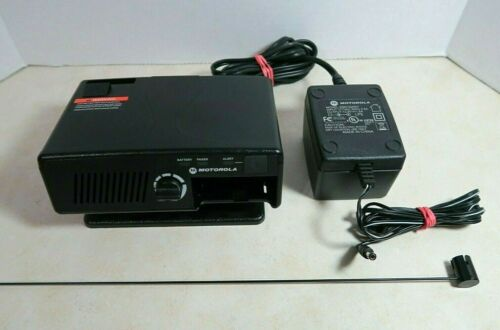Motorola RLN5869C Amplified Charger with VHF Antenna for Minitor V Pager