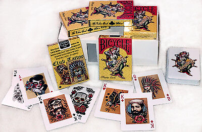 Club Tattoo Bicycle Mermaid Playing Cards Newest Version - Cards Tattoo