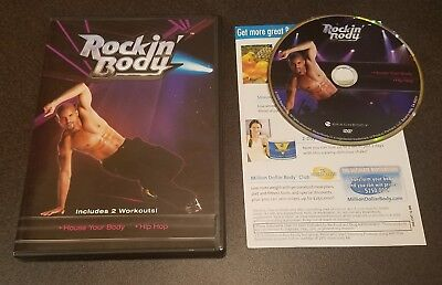 Rockin Body  House Your Body   Hip Hop  Dvd  Shaun T Beachbody Workouts Fitness