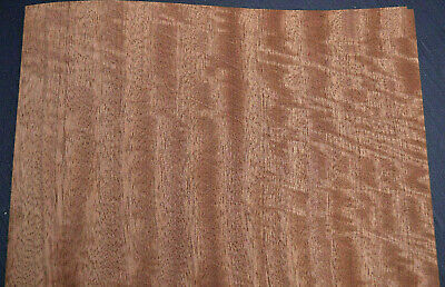 African Mahogany Raw Wood Veneer Sheets 11.5 X 36 Inches   4711-46