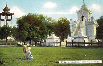 Mandalay,Burma,Shrine of Guadamas Tooth,c.1909