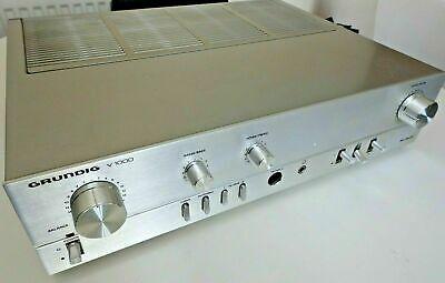 Grundig V-1000 Stereo Amplifier German Vintage 1980 Very Nice Example Hifi