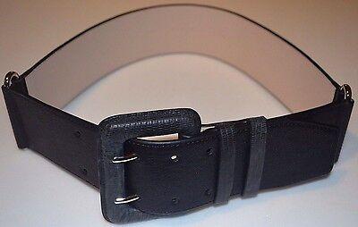 Cole Haan Leather Black Leather Ladies Belt