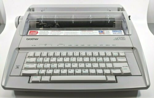 BROTHER Correctronic GX-6750 Daisy Wheel Electronic Typewriter With Cover & Box