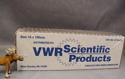 47729-5746 Vwr Scientific Borosilicate Glass Culture Tubes - Box Of 250