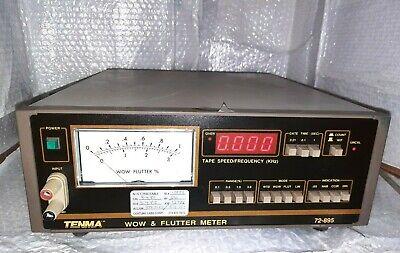 Tenma 72-895 Wow Flutter Meter