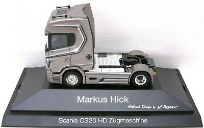 "HERPA Modell 1:87/H0 LKW Scania CS 20 HD ""Markus Hick"" (Bayern/Weißdorf) #111041"