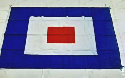 Vintage Nautical marine Big flag A16