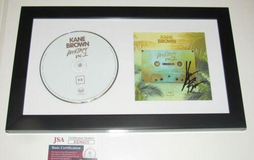 Kane Brown Hand Signed Autographed Mixtape Vol 1 CD Framed And Matted JSA COA