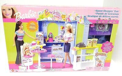 "2003 Mattel Barbie Sweet Shoppin' Fun Play Set B0238 ""Toys R Us"" - New Open Box"