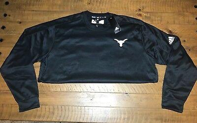Adidas Mens 2XL Fleece Crewneck Pullover Sweatshirt Embroidered Retails $70+ (Fleece Crewneck Mens Sweatshirt)