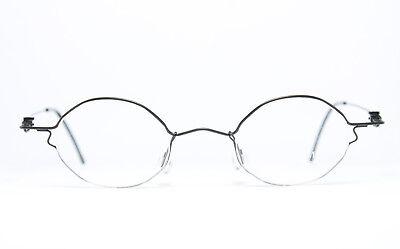 MENIA Original Draht-Brille Eyeglasses Frame Occhiali Bril 4068-432 41-22 Rund