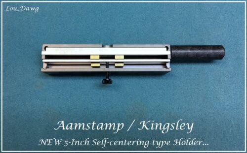 "Aamstamp / Kingsley Machine  (5"" Self centering Type Holder) Hot Foil Stamping"