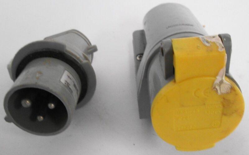Palazzoli 471262 Wall Mounted Socket With IP67 Plug