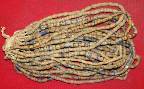 Bundle of (20) Strands of Sandcast Trade Beads #1....Buy It Now