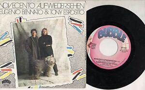 EUGENIO-BENNATO-TONY-ESPOSITO-disco-45-g-SANREMO-1990-NOVECENTO-AUFWIEDERSEHEN