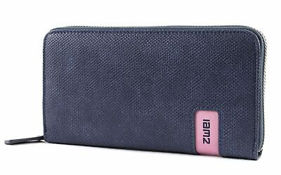 Blau Geldbörse (zwei mademoiselle M.Wallet MW2 Geldbörse Canvas-Blue Blau Neu)