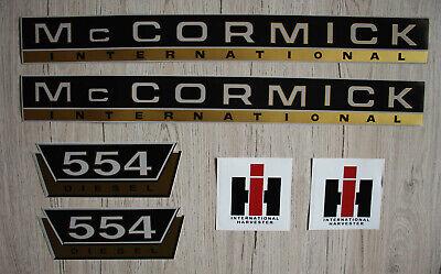 Mc Cormick  Aufkleber international 434 Gold Logo Emblem Sticker Label IHC