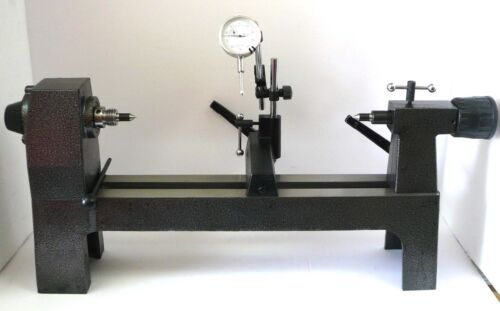 "Precision Bench Center 13-1/4"" Length x 8-1/4"" w/ .001"" x 1"" Dial Indicator New"