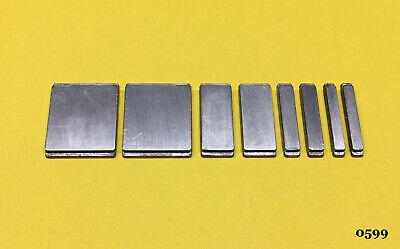 Kingsley Machine -. 72pt. Spacer Set 4-sizes - Hot Foil Stamping Machine