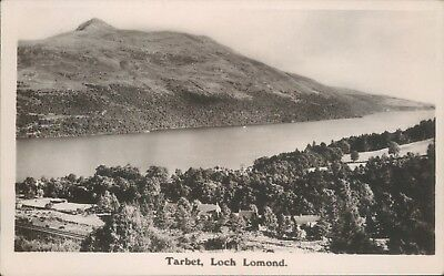 Real photo loch lomond tarbet R sinclair local publisher